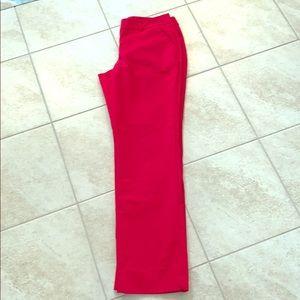 Apt 9 red dress pants